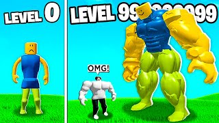 I became the STRONGEST ROBLOX NOOB ever...