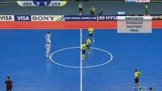 Мини-футбол Украина-Аргентина 5.10.08(Концовка игры., 2008-10-05T18:39:59.000Z)