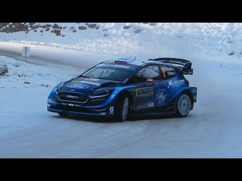 Rallye Montecarlo 2019 | Pure Sound & Action (Tricky Icy Corners)