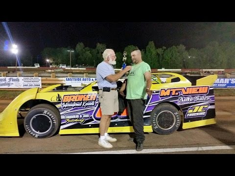 May 16 2015 Race day at Eastside Speedway in Waynesboro, VA  FPOV