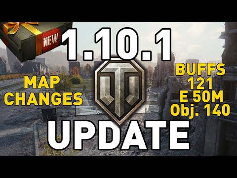 UPDATE 1.10.1 REVIEW - World of Tanks