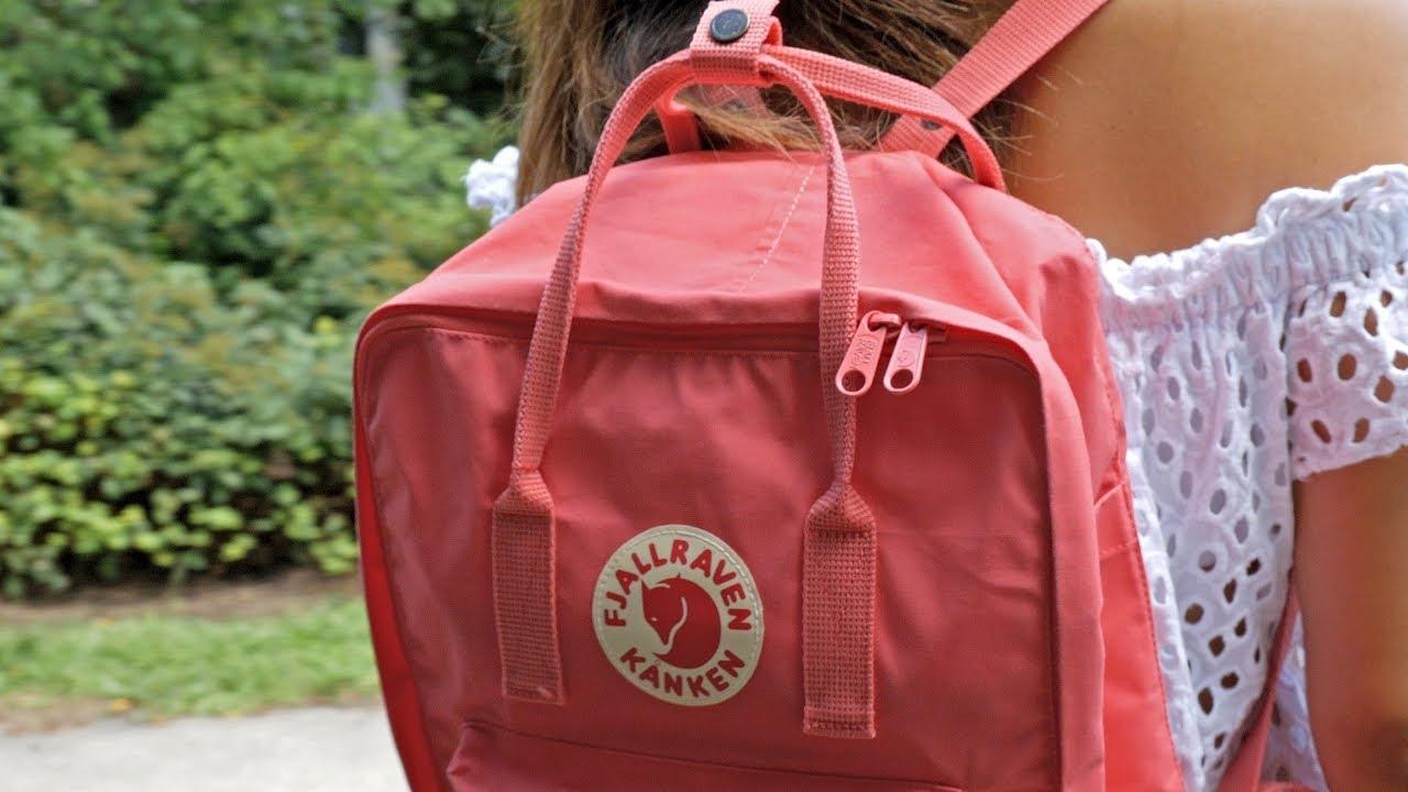 157f16a5bcd Lo que debes saber al comprar una mochila Kanken - YouTube