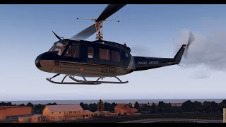 EAGLE ONE - Stratford Connecticut Police Department Helicopter X-Plane 11 with the Nimubs UH-1