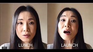 lunchとlaunch ー日本人の苦手な母音
