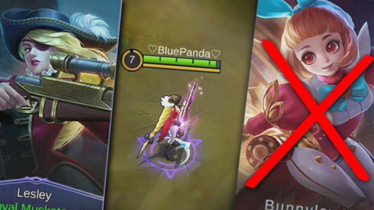 New Hero Angela Removed!!! New Lesley Skin Gameplay Mobile Legends