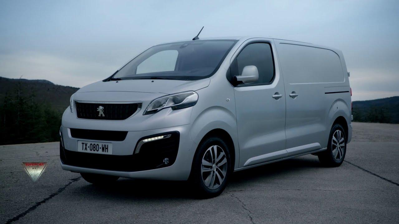 2021 Peugeot Expert Van Interior Exterior Driving Youtube
