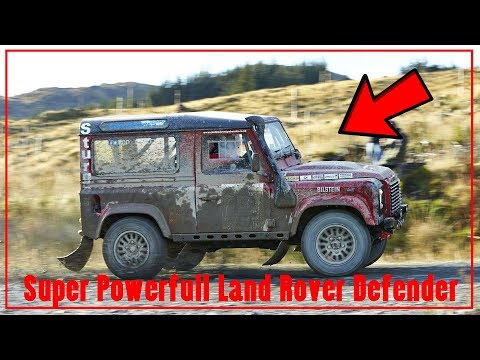 Amazing powerfull Land Rover Defender with Bowler Motorsport