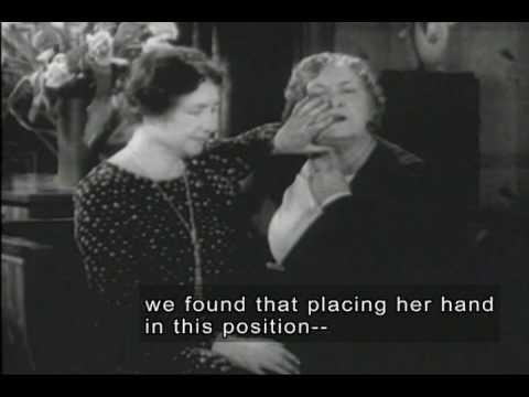 Helen Keller & Anne Sullivan (1928 Newsreel Footage with ...