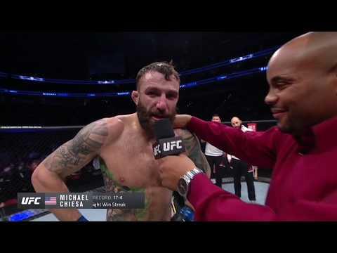 UFC Роли: Майкл Киеса - Слова после боя