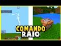 MINECRAFT PE : COMMAND BLOCK #1 - COMANDO RAIO ! ONDE VOCÊ QUISER ‹ NIELZIN ›