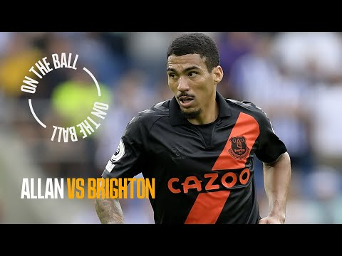 ON THE BALL: ALLAN PLAYER CAM VS BRIGHTON