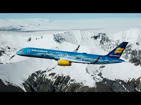 The World's First Glacier Plane - Vatnajökull