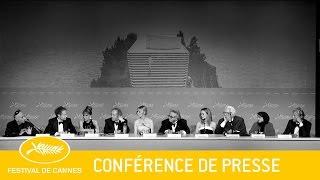 JURY - Press conference - EV - Cannes 2016