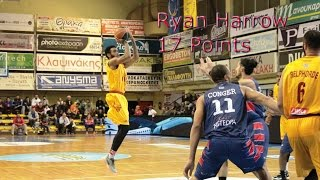Ryan Harrow Highlights 17 Points on 12/19/2015