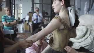 Behind the Curtain: Little Dancer Photoshoot with Tiler Peck