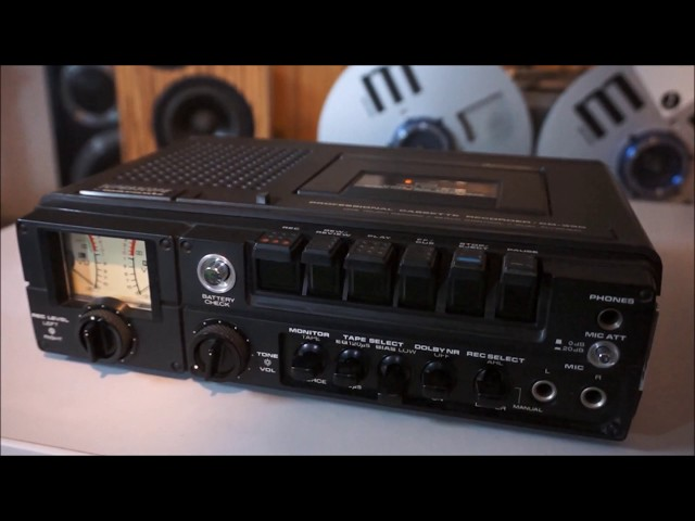 Superscope by Marantz CD-330, Tapedeck Recorder