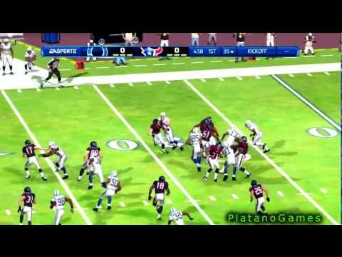 NFL 2012 Week 15 - Indianapolis Colts (9-4) vs Houston Texans (11-2) - 1st Qrt - Madden