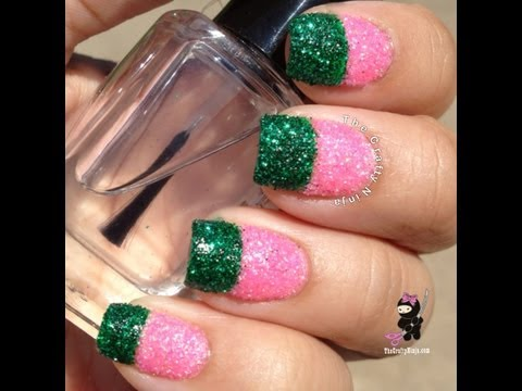 glitter-dipped-nails-by-the-crafty-ninja