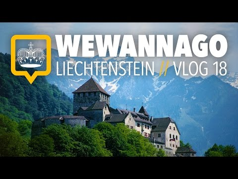 Liechtenstein: Driving to Vaduz and exploring the city  // R