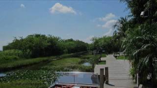 Florida - Everglades - Airboat Rides at Gator Park