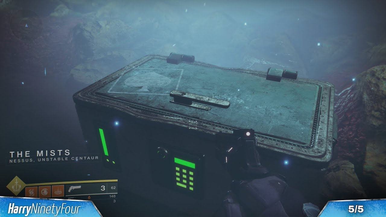 Destiny 2 - All Nessus Treasure Map Locations (Cayde-6 Treasure Maps Guide)  - Week 2