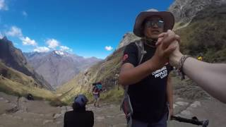 Inca Trail to Machu Picchu with G Adventures April 2016