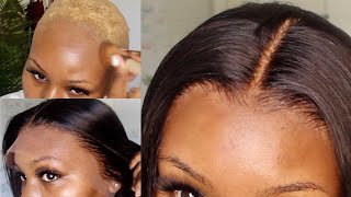 VERY DETAILED + EASY FRONTAL WIG INSTALL USING GOT2BE SPRAY ft.SoGoodHair | PISCES FINEST