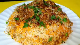 How to make authentic beef biryani at home