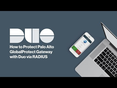How to Install Duo Security 2FA for Palo Alto GlobalProtect VPN (RADIUS Configuration)