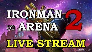 Iron Man IW Arena - Part 2 | Marvel Contest of Champions Live Stream