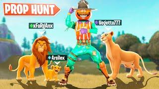 El Rey Leon *Prop Hunt* Nuevo Modo de Juego Minijuegos Creativo Fortnite