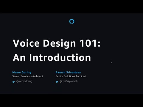 Voice Design 101  An Introduction