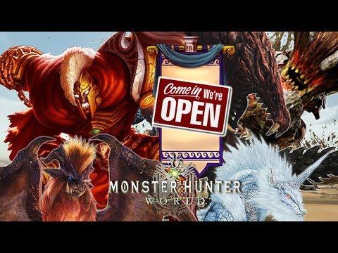 Monster Hunter: World Part 32: Time-Skip Training\Monsters Investigation Open 4 Business!