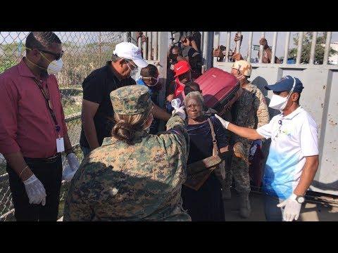 Incrementan medidas   de seguridad en la frontera para evitar la entrada de extranjeros con sintomas   sospechosos de coronavirus
