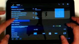 Hive Player - Android Honeycomb Tablet Music Player