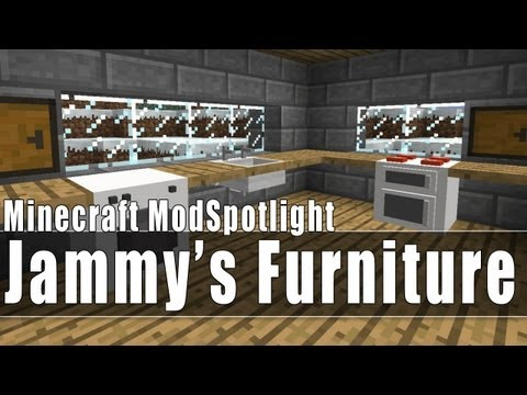 Full Download Minecraft Furniture Mod Computer Tv Fridge
