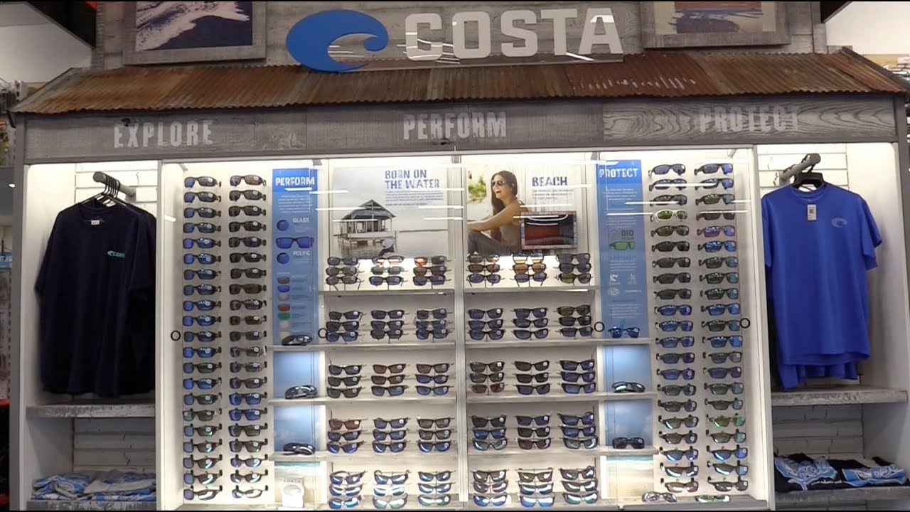 d43061df4737 Costa Del Mar Opens First Australian Store in Store - YouTube