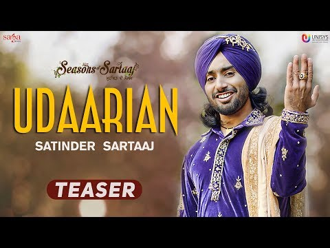 Udaarian (Teaser) -Satinder Sartaaj | Jatinder Shah | Full Song Releasing Soon | Punjabi Song 2018
