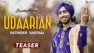 """Saga music presents you the little glimpse of its new punjabi song """"udaarian"""" in soulful voice satinder sartaaj. epic love that will make fal..."""
