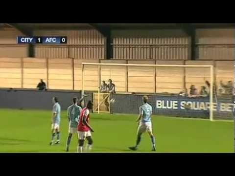JET goal Arsenal Reserve vs Man City Reserve