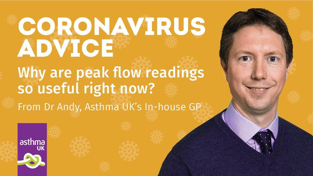 Coronavirus Advice Why Are Peak Flow Readings So Useful Right Now Youtube