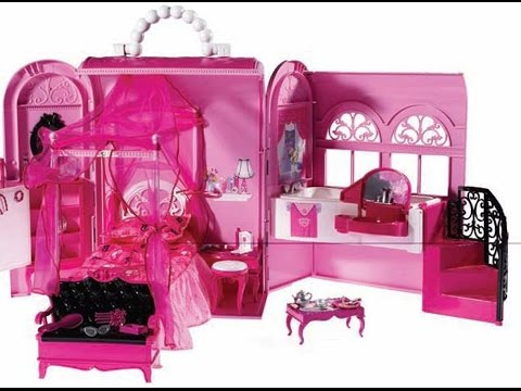 barbie home  Fun World for children girl play