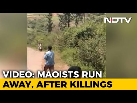 Video Shows Maoists Running Away After Shooting Dead Andhra Lawmaker