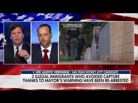 Tucker Battles California Democrat on Illegal Immigration