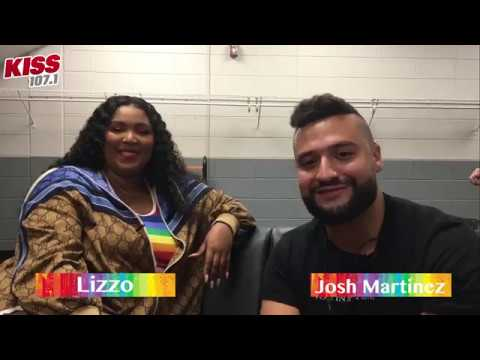 Josh Martinez - Exclusive Backstage Interview With LIZZO