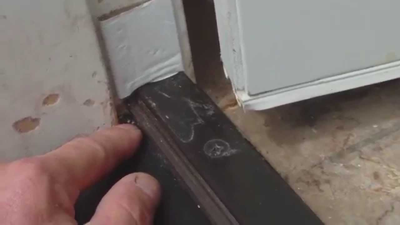 Door Threshold Leaks Video 1 Of 2 Water Wicks Towards