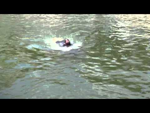 STIDD Diver Propulsion Device (DPD) Manned Individual Submersible Vehicle at NDIA SOFIC 2012 Pt. 1