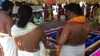 Thiravellattu mahothsavam Kannanamkulam devi temple chentrappinni Thrissur kerala