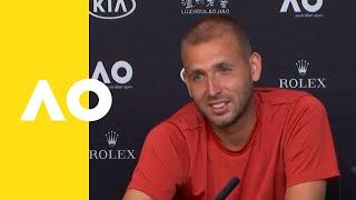 Daniel Evans press conference (2R) | Australian Open 2019
