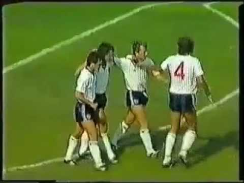England v Poland World cup 1986 German radio commentary !